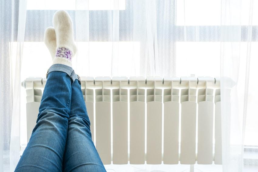 ahorrando calefaccion en casa